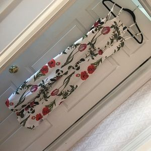 Brand new never worn floral jumpsuit
